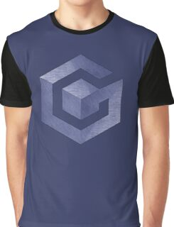 °GEEK° GameCube Denim Graphic T-Shirt