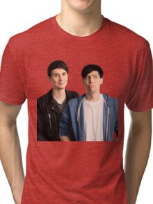 OFFICIAL Dan and Phil | Stickers and Shirts Tri-blend T-Shirt