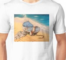 Salty, Whitby harbour Unisex T-Shirt