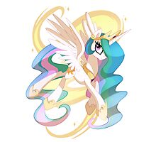 Princess Celestia Photographic Print