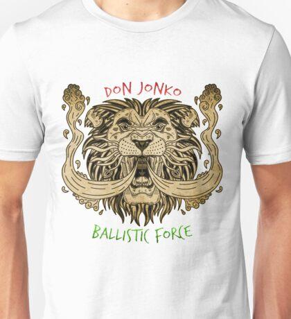 Don Jonko Ballistic Force (Rasta) Unisex T-Shirt