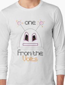 Robot (One from the Volts, Angry eyes) Filled face Long Sleeve T-Shirt