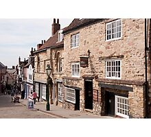 Jew's Court, Steep Hill, Lincoln, UK Photographic Print