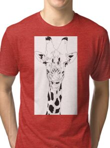 Gavin the Giraffe  Tri-blend T-Shirt