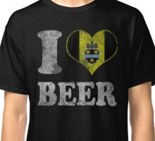 I Heart Pittsburgh Beer Classic T-Shirt
