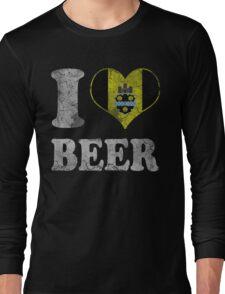 I Heart Pittsburgh Beer Long Sleeve T-Shirt