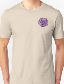 Lavender Rose [Small] Unisex T-Shirt