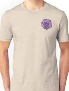 Lavender Rose [Small] Unisex T-Shirt