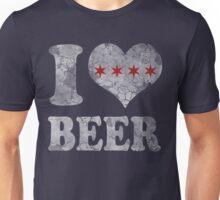 I Heart Chicago Beer Unisex T-Shirt