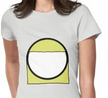 Cartoon Face 2 - Blonde Girl [Big] Womens Fitted T-Shirt
