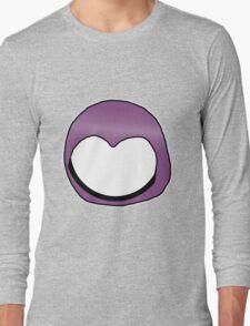 Cartoon Face 3 - Moonbase Girl [Big] Long Sleeve T-Shirt