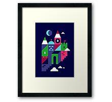 Holiday Castle Framed Print
