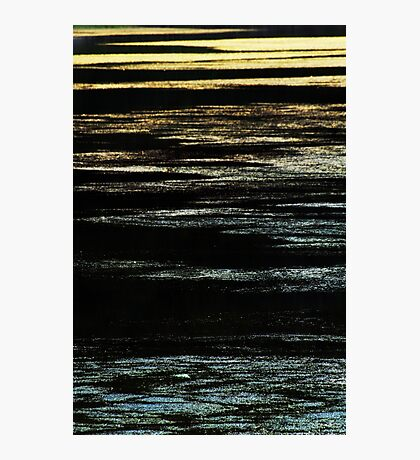 Silver and Gold Photographic Print