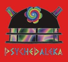 PsycheDaleka Head [Small]- Psychedelic Dalek! Kids Clothes