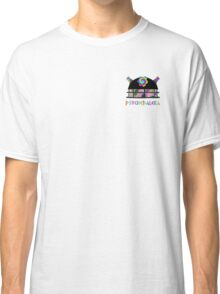 PsycheDaleka Head [Small]- Psychedelic Dalek! Classic T-Shirt