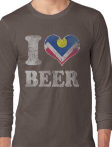 I Heart Denver Beer Colorado Long Sleeve T-Shirt