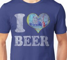 I Heart Milwaukee Beer Unisex T-Shirt