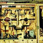 Woodworking Tools by Susan Savad