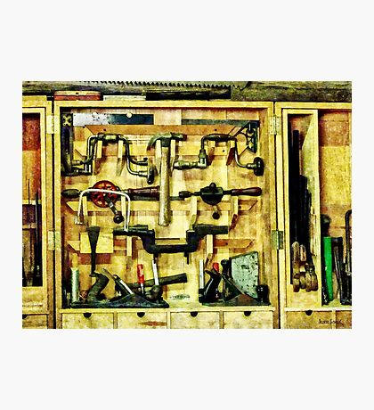 Woodworking Tools Photographic Print