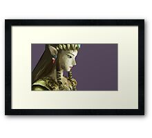 Princess Of Twilight Low Poly Framed Print