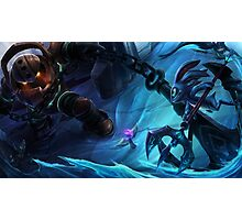 Nautilus VS Fizz/League of legends Photographic Print