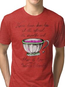 Tea wars Tri-blend T-Shirt
