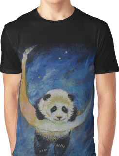 Panda Stars Graphic T-Shirt