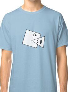 Triangle Muncher T Shirt (white) Classic T-Shirt