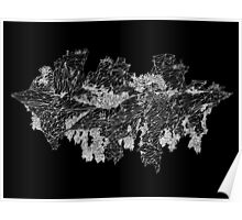 canyon (digital landscapes) Poster