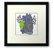 Pop Heart T Shirt  Framed Print