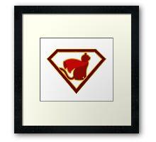 SuperCat Framed Print