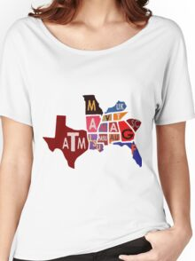 The SEC South Eastern Conference Teams Women's Relaxed Fit T-Shirt