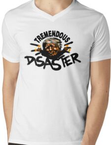 Tremendous Disaster Mens V-Neck T-Shirt