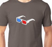 3D Glasses T Shirt  Unisex T-Shirt