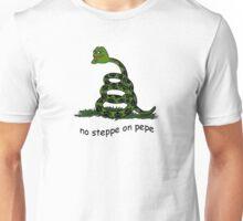 No Steppe on Pepe Unisex T-Shirt