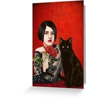 Mister Noir and I  Greeting Card