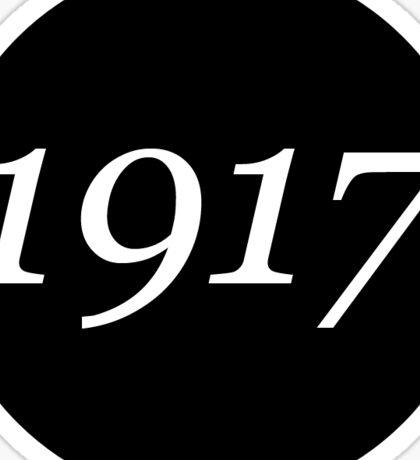 1917 Sticker