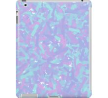 Cool Colors (Blue and Red) Abstract Paint Design iPad Case/Skin