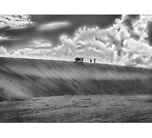 People Walking at Dune Jericoacoara Brazil Photographic Print