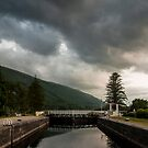 Laggan Locks.  by Mbland