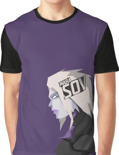 Mara Sov, Queen of the Reef Graphic T-Shirt