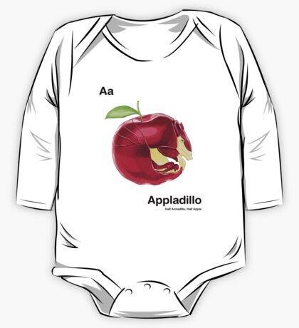 Aa - Appladillo // Half Armadillo, Half Apple One Piece - Long Sleeve