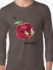 Aa - Appladillo // Half Armadillo, Half Apple Long Sleeve T-Shirt