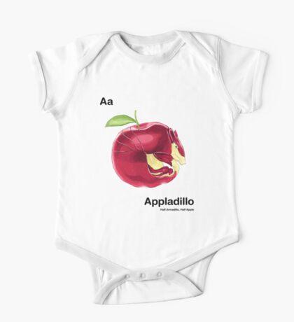 Aa - Appladillo // Half Armadillo, Half Apple One Piece - Short Sleeve