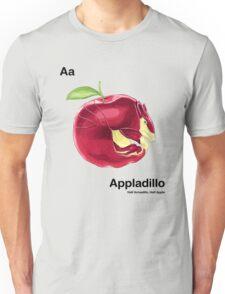 Aa - Appladillo // Half Armadillo, Half Apple Unisex T-Shirt