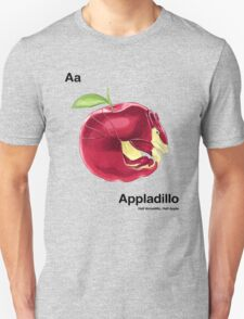 Aa - Appladillo // Half Armadillo, Half Apple Unisex T-Shirt