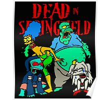 Dead In Springfield Poster