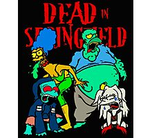 Dead In Springfield Photographic Print