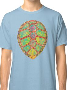 Psychedelic Turtle Classic T-Shirt