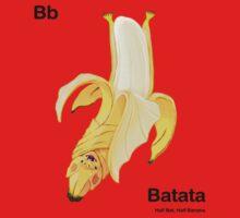 Bb - Batata // Half Bat, Half Banana Kids Tee